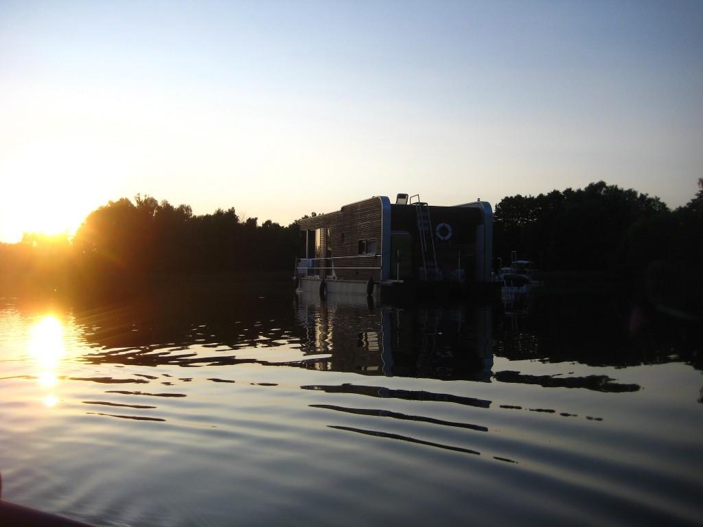 Loftboot - Abendstimmung