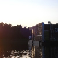 Loftboot Abendstimmung