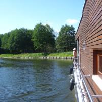 Loftboot auf der Havel