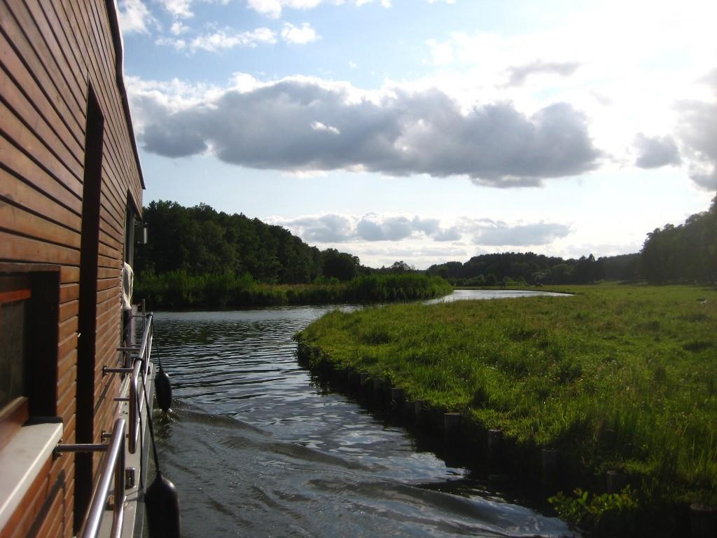 Loftboote auf der Havel