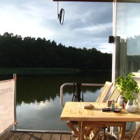 Die Loftboot.de Terrasse