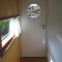 Das zweite Schlafzimmer im Hausboot