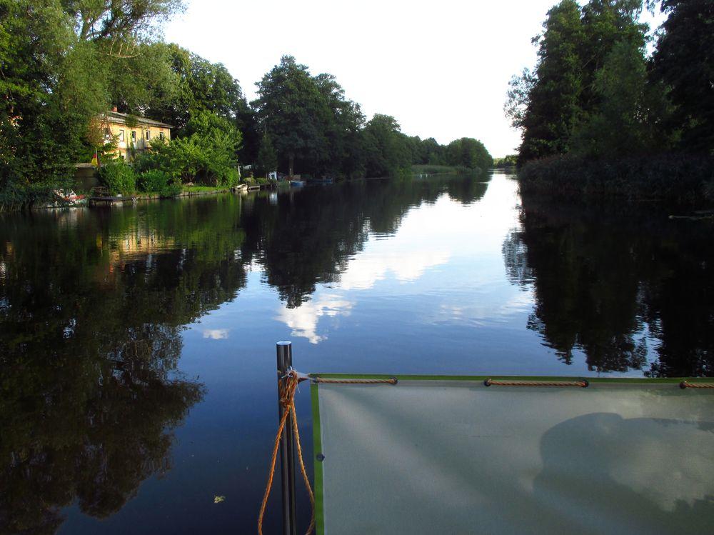 Loftboot Hausboote